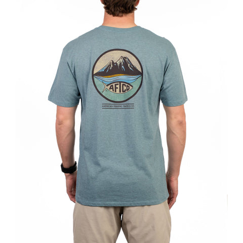 Aftco Denver CO  t-shirt was made for anglers that demand the best in t-shirts. Shop Bennetts Clothing for a large selection of Aftco hats and shorts with same day shipping.