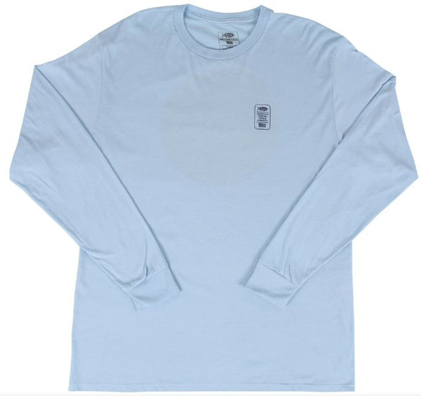 AFTCO Lemonade Long Sleeve T-Shirt-Bluesteel Heather