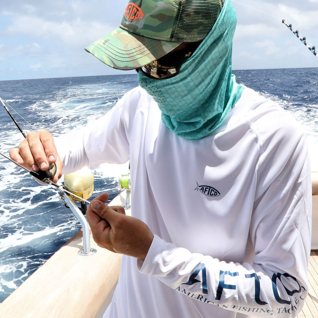 Aftco UPF 50 Fishing shirt -Shop Bennetts Clothing for Aftco and receive same day shipping.