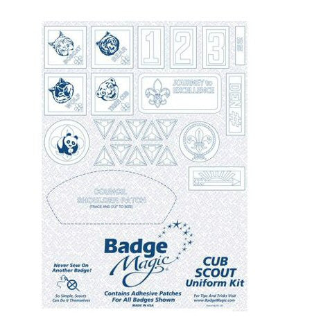 Badge Magic Cub Scout Kit - Bennett's Clothing