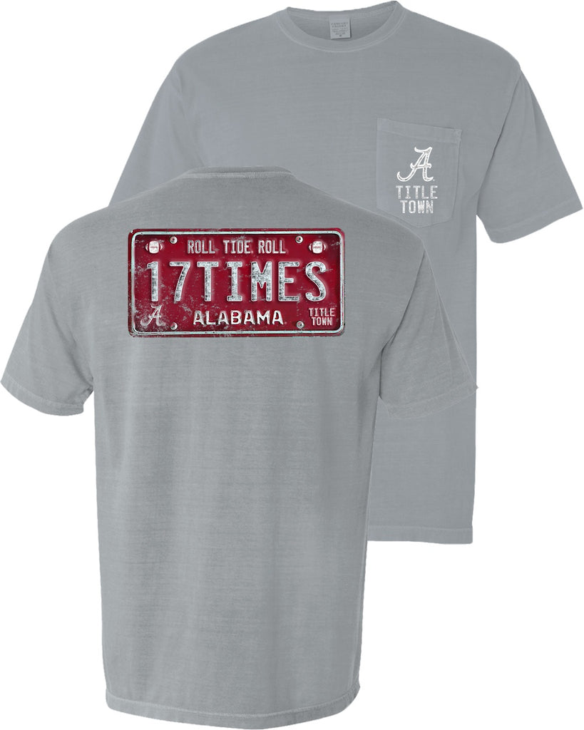 Bama Gridiron 17 Times Tag t-shirt upgrades your game day style. Shop Bennett's for the brands you love shipped same day to your front door.