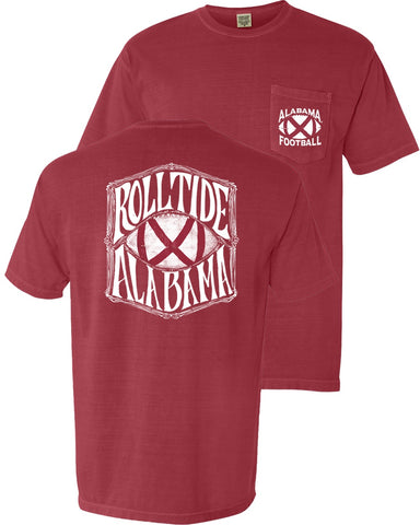 Bama Gridiron Alabama Football Flag t-shirt upgrades your game day style. Shop Bennett's for the brands you love shipped same day to your front door.