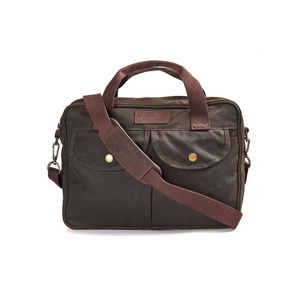 Barbour Longthorpe Laptop bag is stylish, rugged and ready for the next adventure. Shop Bennett's Clothing for the brands you want with the service you deserve.