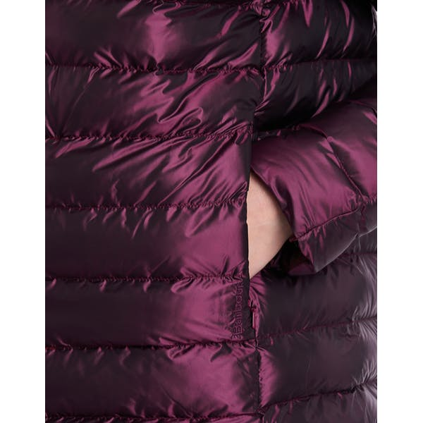 Barbour Womens Aerielle Quilted Jacket-Juniper