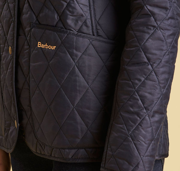 Barbour Womens Annandale Quilted Jacket Navy Bennett S
