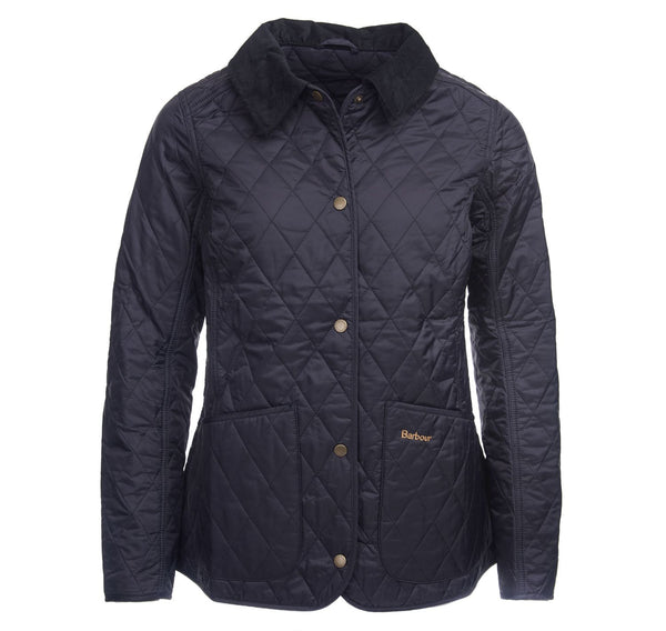 Barbour Womens Annandale Quilted Jacket-Navy