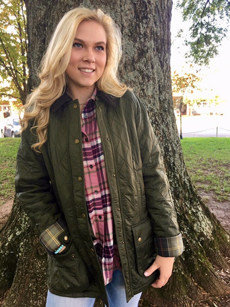 Barbour Womens Beadnell Polarquilt Jackets have that stylish look with the warmth you need this season. Shop Bennetts Clothing for a large selection of womens outdoors wear.