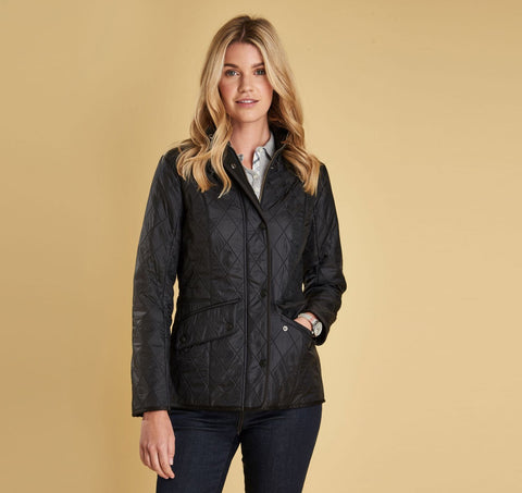 Barbour Womens Cavalry Polarquilt Jacket -Shop Bennetts Clothing for a large selection of womens outdoors wear.