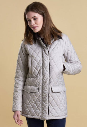 Barbour Womens Barrowdale Quilted Jacket-Mist