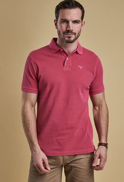 Barbour mens Polo shirt -Bennetts Clothing