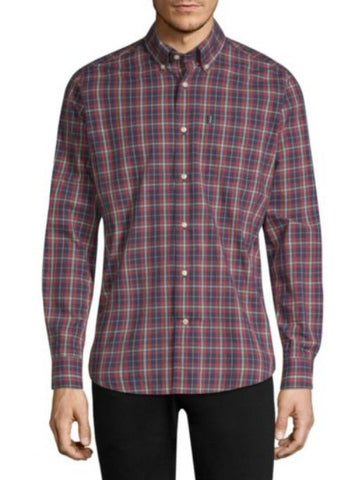 Barbour Mens Stapleton Highland Check Sport Shirt -Shop Bennetts Clothing for a large selection of outdoors menswear.