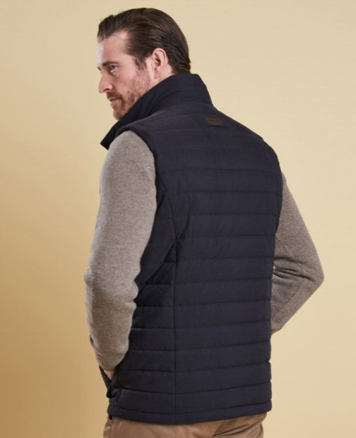 1cd9828965 Barbour Mens Bradford Quilted Vest-Navy – Bennett s Clothing