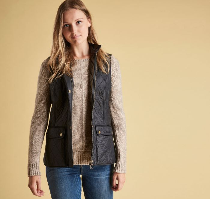 Womens Barbour Wray Quilted Vest -Shop Bennetts Clothing for a large selection of womens outdoors wear.