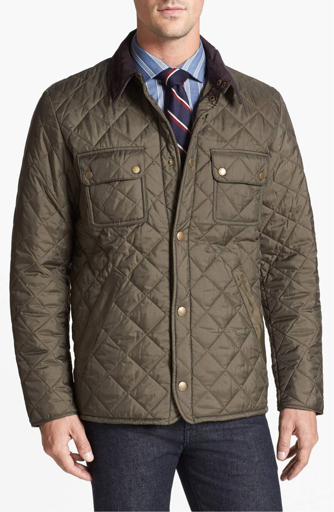 Barbour Mens Tinford Quilted Jacket-Olive Green – Bennett's Clothing : quilted jacket green - Adamdwight.com