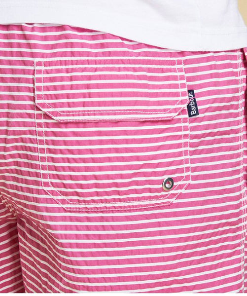 Barbour Mens Milton Swim Short-Pink