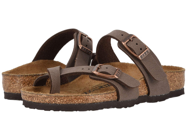 Birkenstock kids Mayari is a cute strappy sandal that your little one will fall in love with. Shop Bennett's Clothing for a large selection of Birkenstock to fit the whole family.