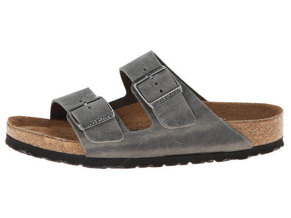 Birkenstock Arizona Soft Footbed Sandal-Iron Oil - Bennett's Clothing - 2