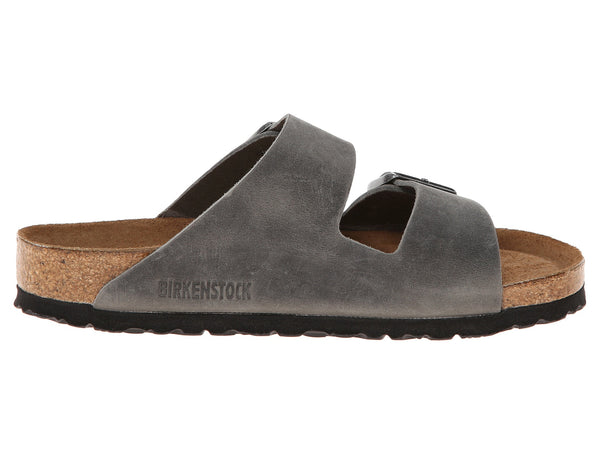 Birkenstock Arizona Soft Footbed Sandal-Iron Oil - Bennett's Clothing - 4