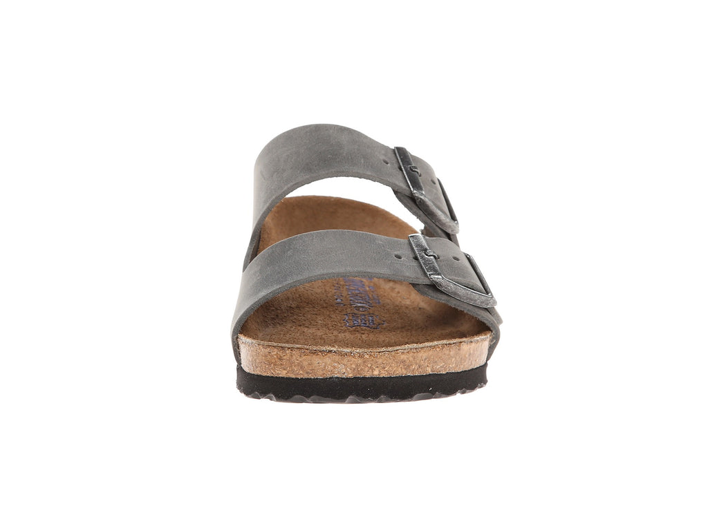 Birkenstock Arizona Soft Footbed Sandal Iron Oil
