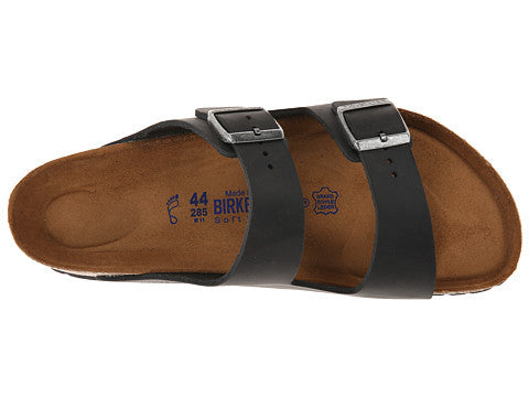 Birkenstock Arizona Soft Footbed Sandal-Black Oiled Leather - Bennett's Clothing - 6