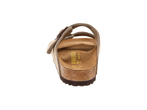 Birkenstock Arizona Soft Footbed Sandal-Taupe Suede - Bennett's Clothing - 3