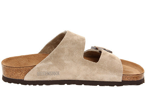 Birkenstock Arizona Soft Footbed Sandal-Taupe Suede - Bennett's Clothing - 4