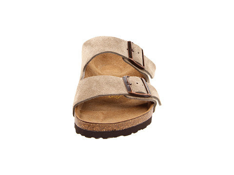 Birkenstock Arizona Soft Footbed Sandal-Taupe Suede - Bennett's Clothing - 5