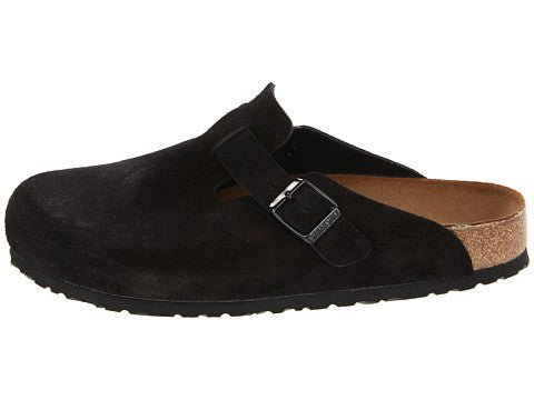 Birkenstock Boston Clog-Black Suede - Bennett's Clothing - 2