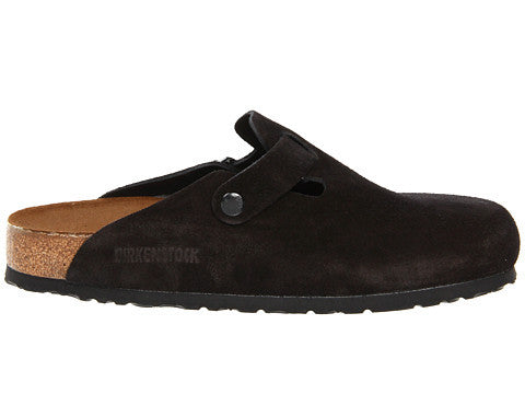 Birkenstock Boston Clog-Black Suede - Bennett's Clothing - 3