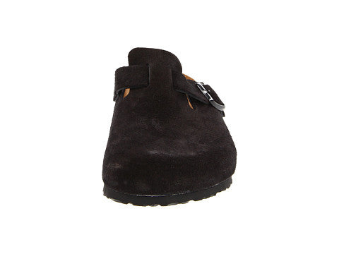 Birkenstock Boston Clog-Black Suede - Bennett's Clothing - 4