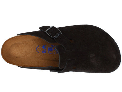 Birkenstock Boston Clog-Black Suede - Bennett's Clothing - 5