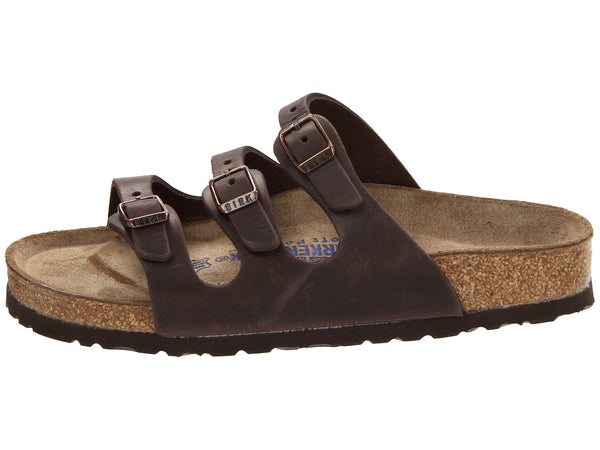Birkenstock Women's Florida Soft Footbed Sandal-Habana Waxy Leather - Bennett's Clothing - 2