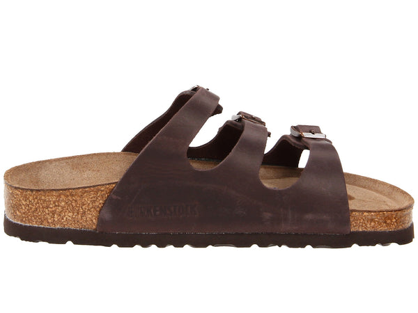Birkenstock Women's Florida Soft Footbed Sandal-Habana Waxy Leather - Bennett's Clothing - 4