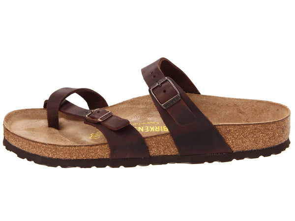 Birkenstock Women's Mayari Leather Sandal-Habana Oiled - Bennett's Clothing - 2