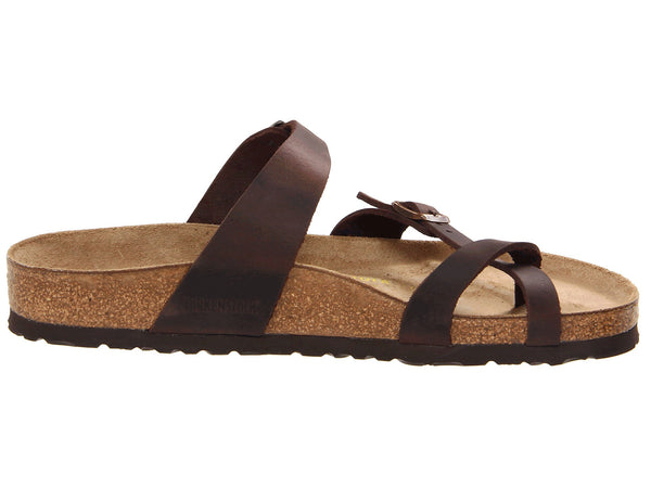 Birkenstock Women's Mayari Leather Sandal-Habana Oiled - Bennett's Clothing - 4