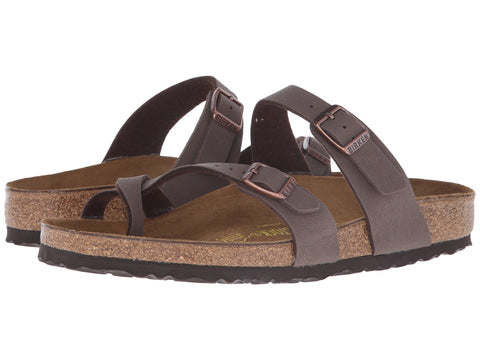 Birkenstock Mayari Sandal is a cute strappy sandal that you will fall in love with. Shop Bennett's Clothing for a large selection of Birkenstock to fit the whole family.