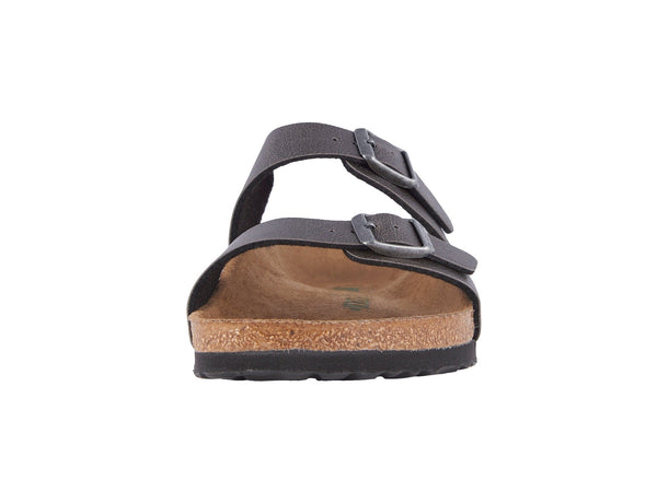 Birkenstock Women's Sydney Vegan Sandal-Anthracite Pull up