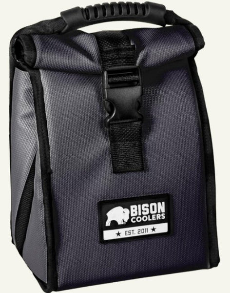 Bison Work 'N Play Cooler bag is just the right size for keeping a 6 pack or lunch cold for 24 hours in 100 degree heat. Shop Bennett's for the best in outdoor gear and clothing.