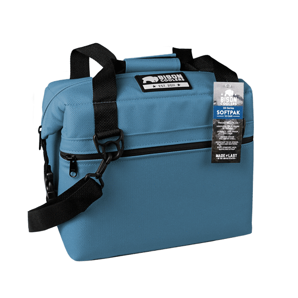 Bison Soft Bag XD Cooler is tough and will keep ice and drinks cold for 24 hours in 100 degree heat. Shop Bennett's for the best in outdoor gear and clothing.