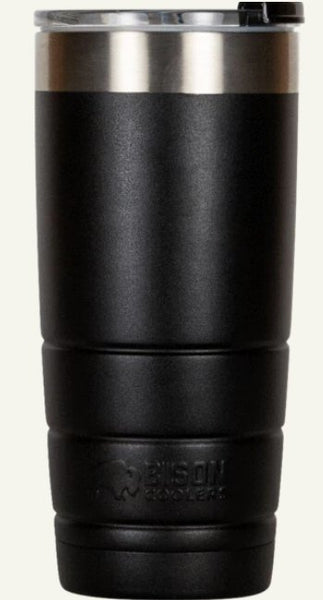 Bison GEN2 22oz Tumbler is leakproof and ready to keep your drink hot or cold for HOURS! Shop Bennett's for the best in outdoor gear and clothing. Family owned for over 44 years.