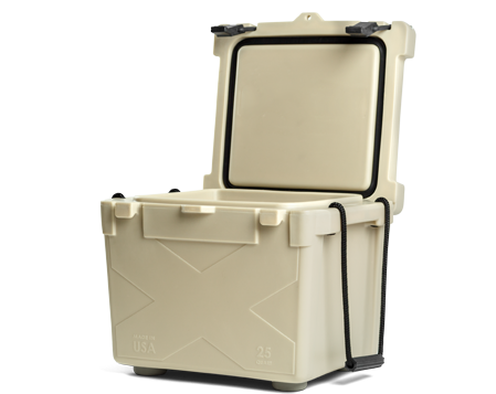 BISON 25 QT Cooler-Sand - Bennett's Clothing - 2