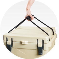 BISON 25 QT Cooler-Sand - Bennett's Clothing - 4