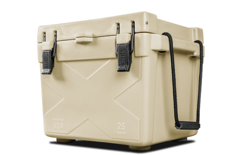 BISON 25 QT Cooler-Sand - Bennett's Clothing - 1