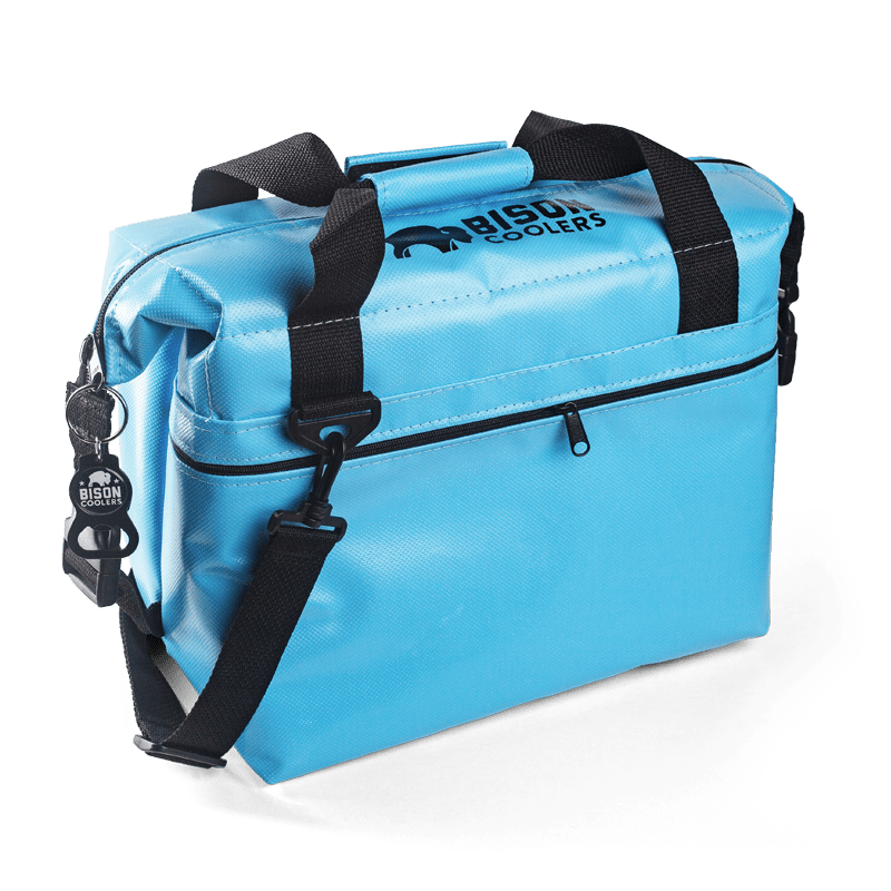 BISON Softpak Ice Chest Cooler-12 Can-Blue - Bennett's Clothing - 1