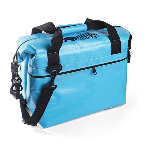 BISON Softpak Ice Chest Cooler-12 Can-Blue