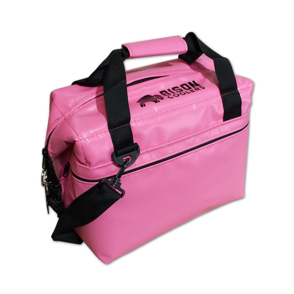 BISON Softpak Ice Chest Cooler-12 Can-Pink - Bennett's Clothing - 1