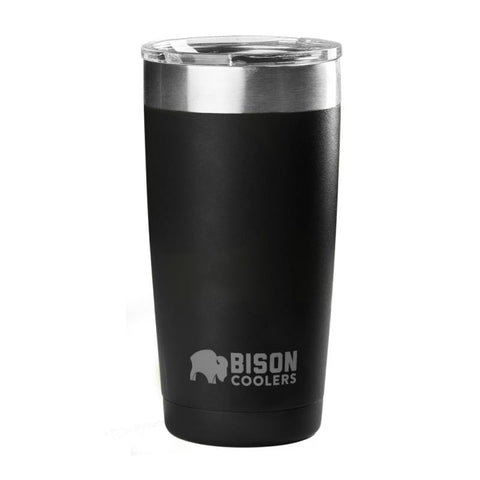 BISON 20oz TUMBLER-Black - Bennett's Clothing