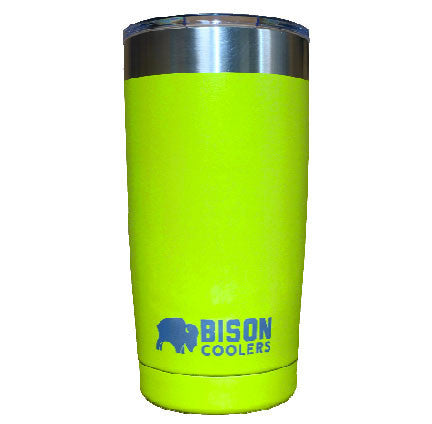 BISON 20oz TUMBLER-Lime - Bennett's Clothing