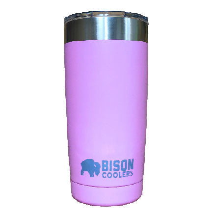 BISON 20oz TUMBLER-Pink - Bennett's Clothing