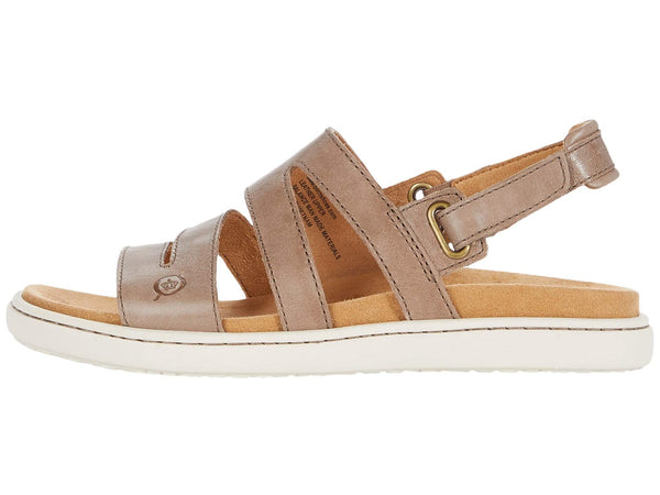 Born Dhyr Women's Strappy Sandal-Taupe